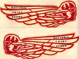 National Air Show Decals - Set of Two