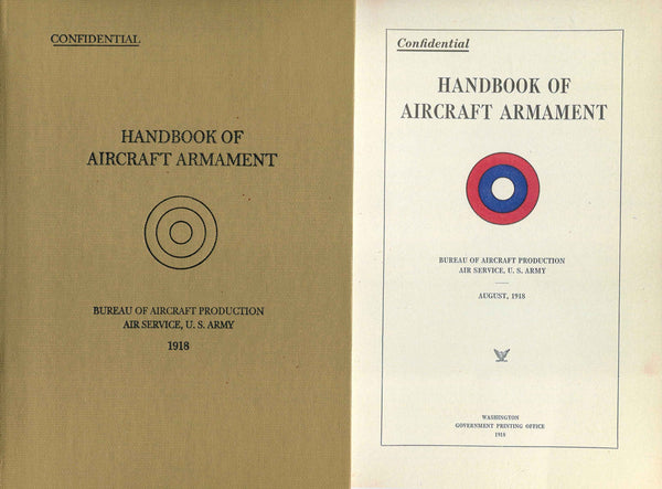 Handbook of Aircraft Armament - Facsimile Reprint