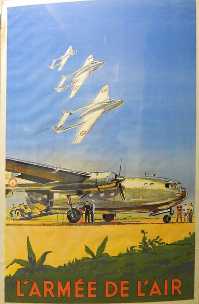 French Aviation Recruitment Poster - circa 1952