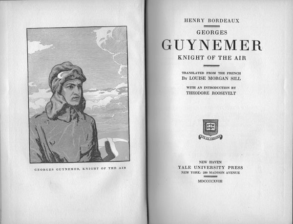 Georges Guynemer, Knight of the Air