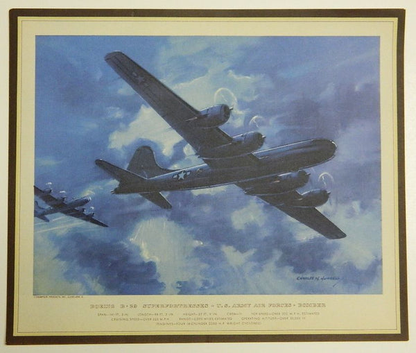 Hubbell Prints - U.S. Army Air Forces - circa 1944 Calendar