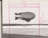 Tribute Archive USN Blimp Photo