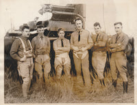 Early US Army Blimp Flight Crew - 1922