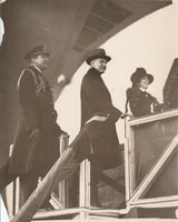 President and Mrs. Calvin Coolidge Christen the U.S.S. Los Angeles - 1924