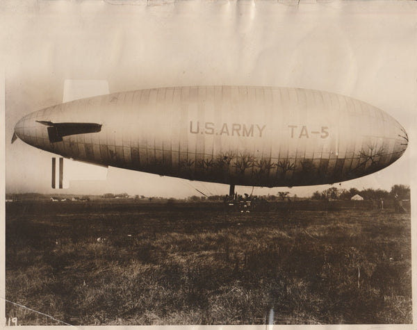 U.S. Army TA-5 Blimp - 1926