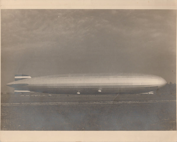 Graf Zeppelin Sepia Tone Photo - circa 1928