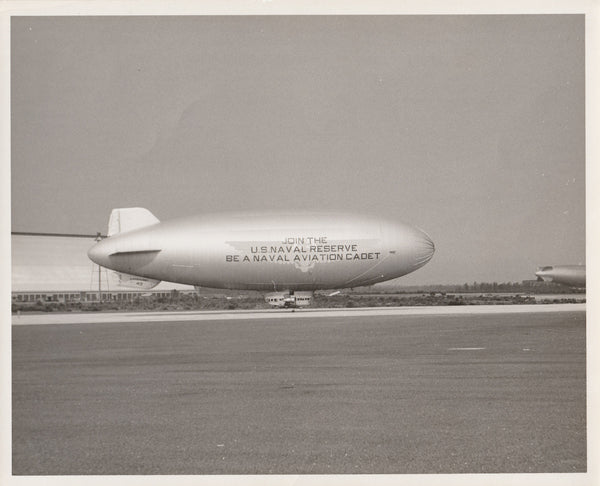 """Lakehurst No. 43"" Recruiting Blimp Profile Photo"