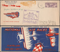 1931 National Air Races Cover - Pilot Signed