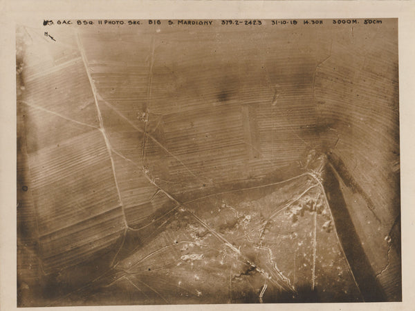 WWI Aerial Photo - Mardigny