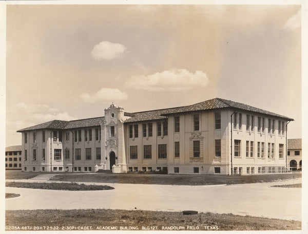 Aviation Cadet Academic Building , Randolph Field - 1932