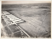 Aerial Photo to the NW, Randolph Field Flightline - 1931