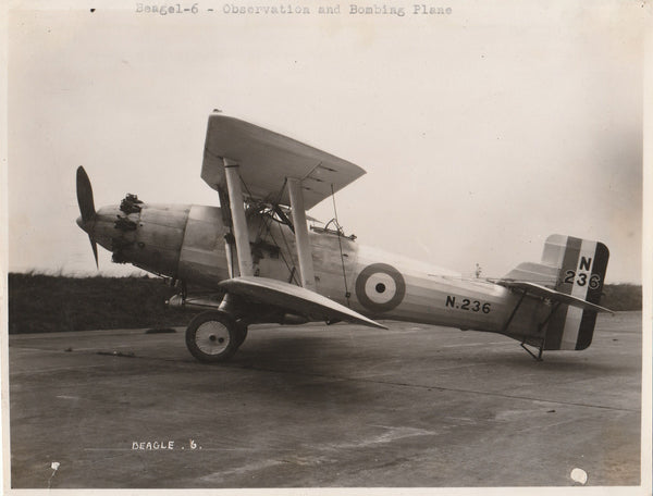 British Blackburn Aeroplane & Motor Co. Beagle 6 - 1928