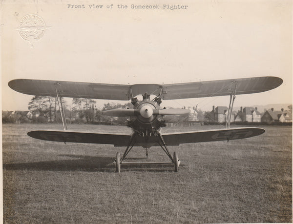 Gloster Gamecock Fighter - 1925