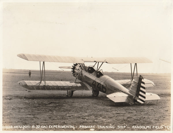 Verville YPT-10 Air Corps Prototype No. 446 - 1932
