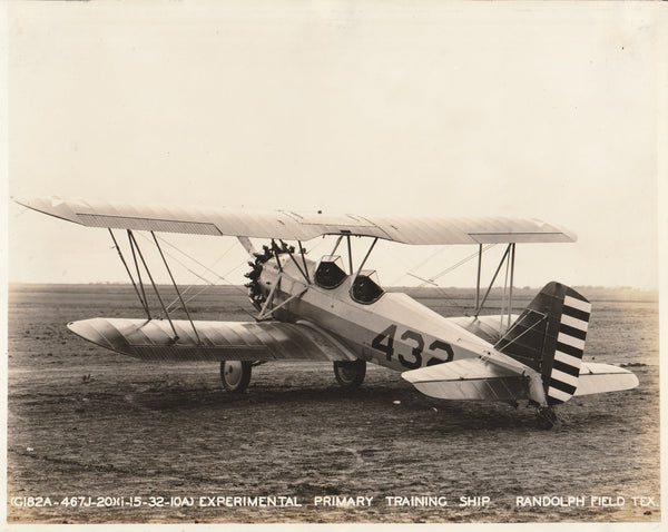 Verville YPT-10 Air Corps Prototype No. 432 - 1932