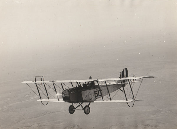 JN-4D in Flight - circa 1918