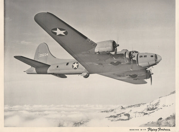WWII Boeing B-17 Promo Photo - 1943