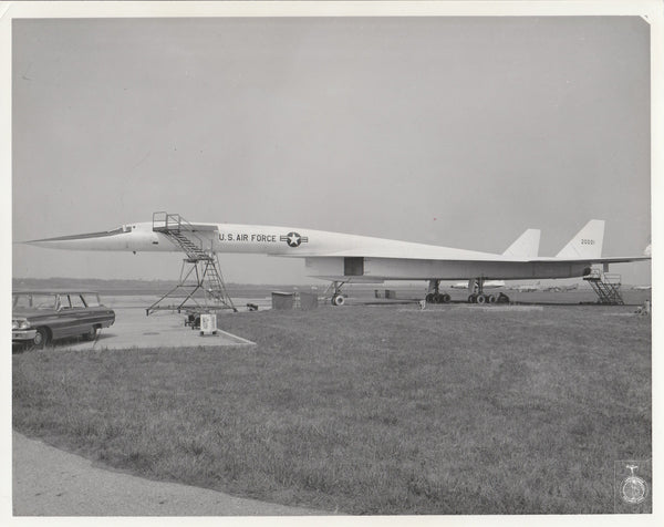 XB-70 Photo Lot of 6 - circa 1969