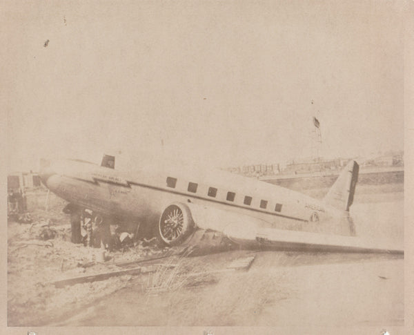 American Airlines DC-3 Crash Photo