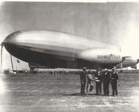 Goodyear Blimp Volunteer (NC8A) w/ Graf Zeppelin - circa 1929