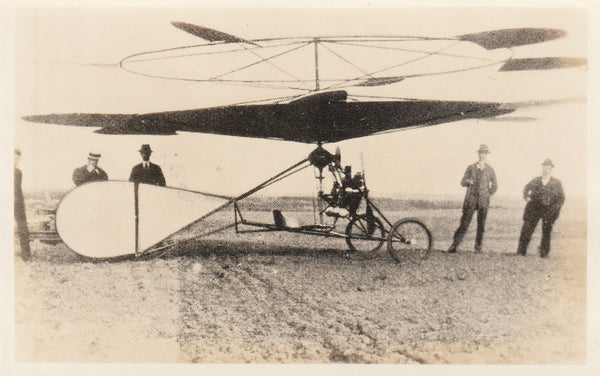 1912 Danish Helicopter Photo