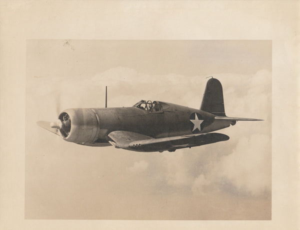 WWII Vought-Sikorsky Corsair Company Photo