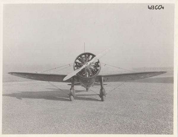 Curtiss P-26 Peashooter - circa 1935