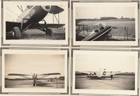 Four Snapshots w/Fancy Borders - circa 1932/33