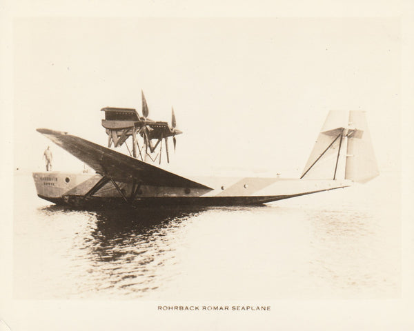 Rohrbach Romar German Seaplane Photo