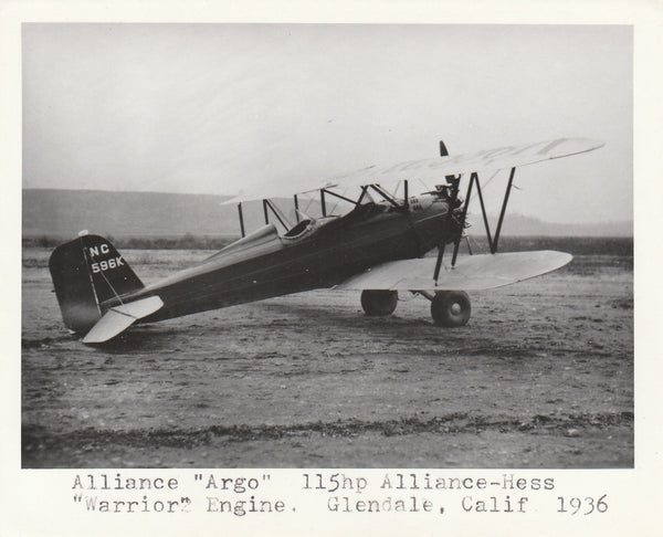 "Alliance ""Argo"" Photo"