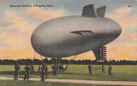 WWII Small Airship Card
