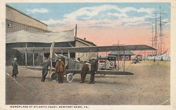 Flying School Postcard - circa 1919