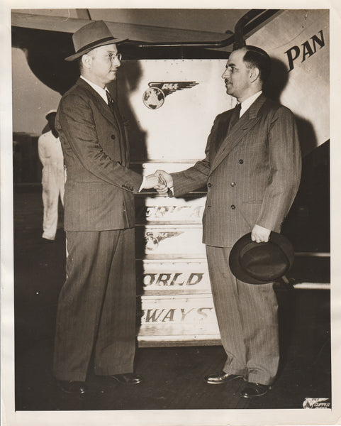 Press Photo, Pakistan Ambassador Arrives in New York via PAA - 1947