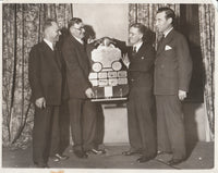 Press Photo, Cleveland Airport Manager John Berry Honored - 1933