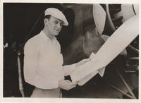 Press Photo, Wisconsin/Michigan Crew to Attempt Atlantic Crossing - 1932
