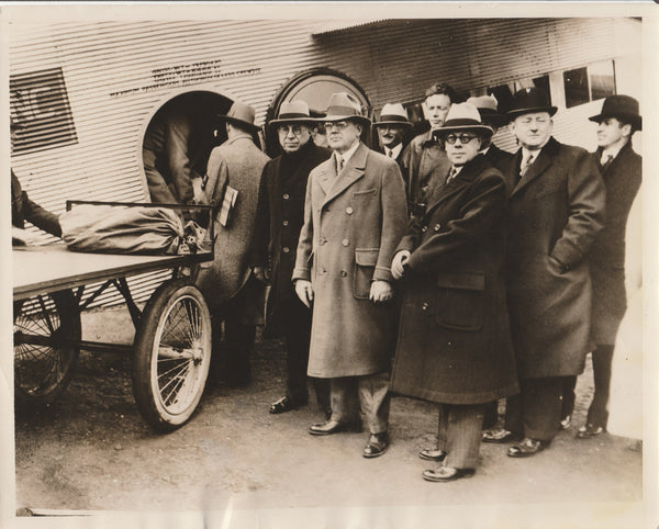 Press Photo, TWA Inaugurates Newark - Los Angeles Passenger/Mail Service - 1930