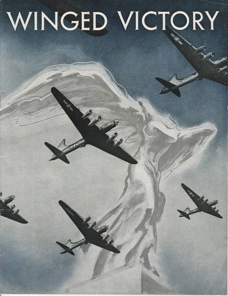 WINGED VICTORY, Program for the WWII Play and Movie - 1943 to 1944