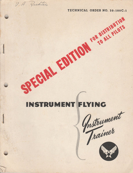 T.O. Instrument Flying - 1943