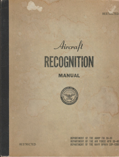 Aircraft Recognition Manual - 1949/51