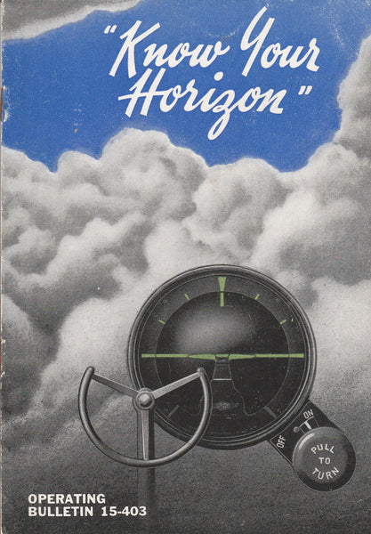 """Know Your Horizon"", Sperry Booklet - 1942"