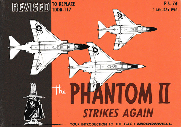 "McDonald Booklet ""The Phantom II Strikes Again"" - Jan 1964"