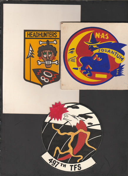 Original Color Artwork of Unit Insignia - circa 1960's