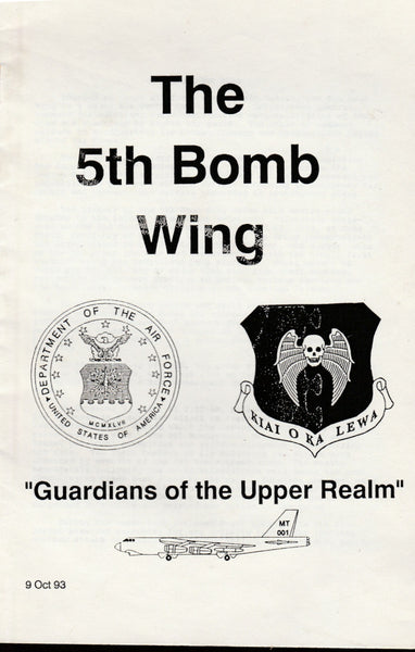 5th Bomb Wing History Booklet - 1993