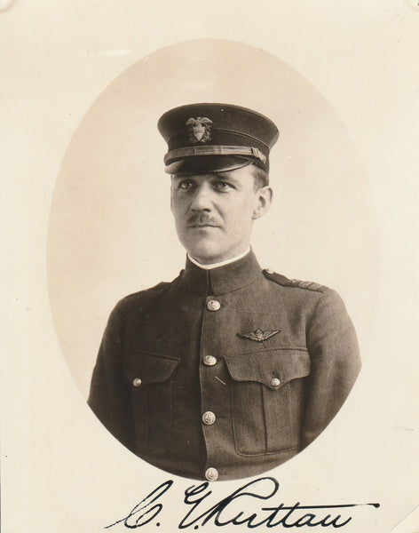 Signed Formal Portrait of Charles Edwin Ruttan - circa 1917