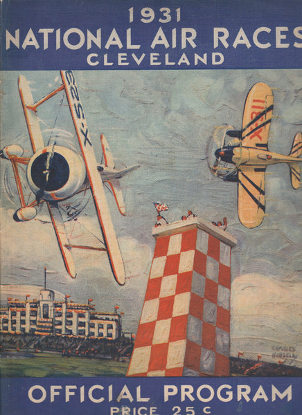 Very Rare 1931 National Air Race Program