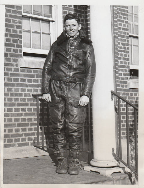 Original Press Photo of Air Mail Pilot - 1934