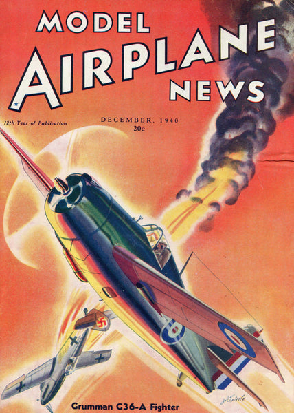 Model Airplane News - 31 issues - 1940's