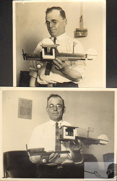 A Pair of Inventor Photos - 1929