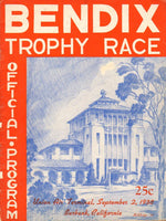 1938 Bendix Trophy Race Official Program