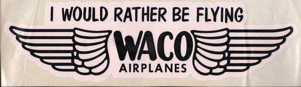 Waco Decal